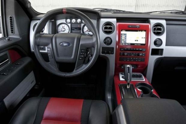 Ford Svt Raptor Interior View