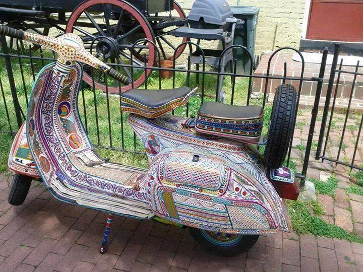 Pakistani Truck Art Bike