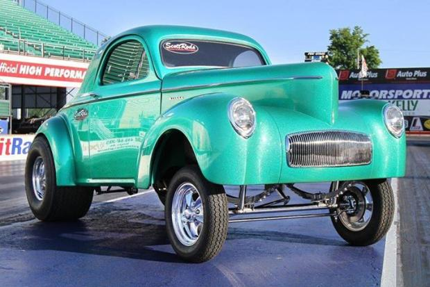 Scot Rods Gasser Car