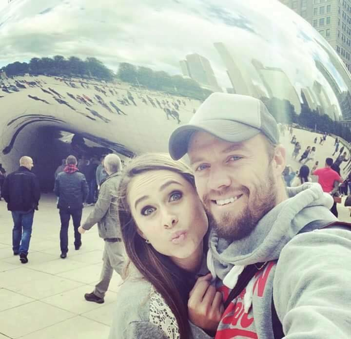A B Devillier Selfie With Wife