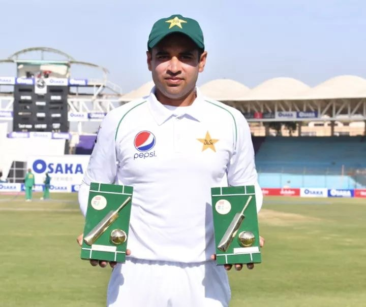 Abid Ali Man Of The Match And Also Man Of The Series