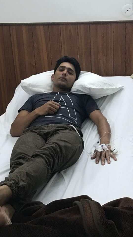 Adnan Akmal Is Suffering From Dengue Fever