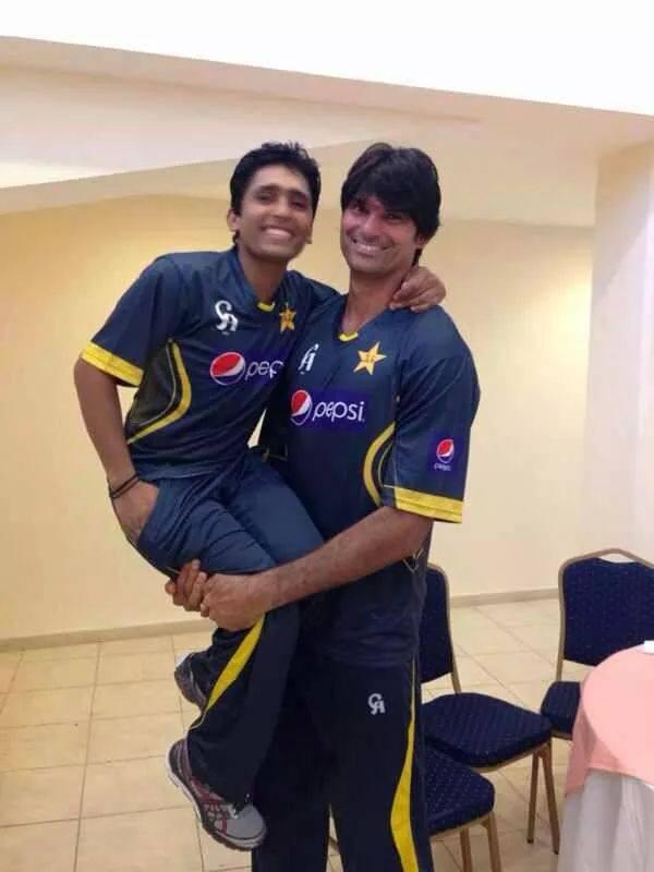 Adnan Akmal With Muhammad Irfan