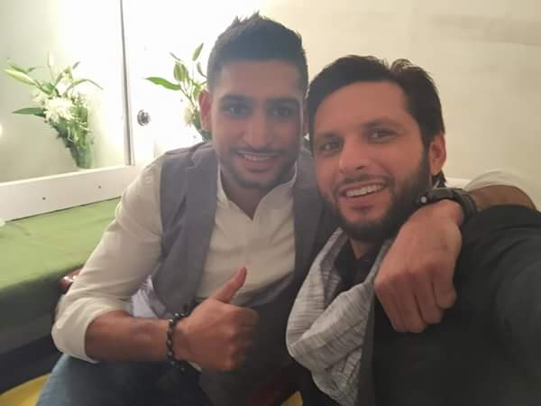 Afridi And Amir Khan