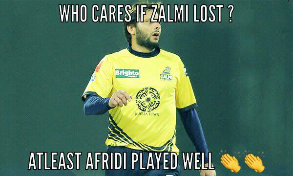 Afridi Played A Boom Boom Inning