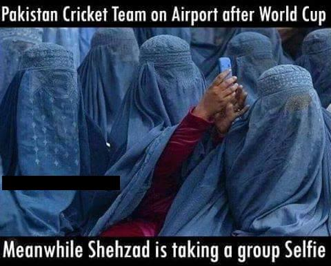After World Cup Pakistan Cricket Team On Airport