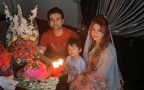Ahmad Shahzad Celebrating Birthday Of His Wife