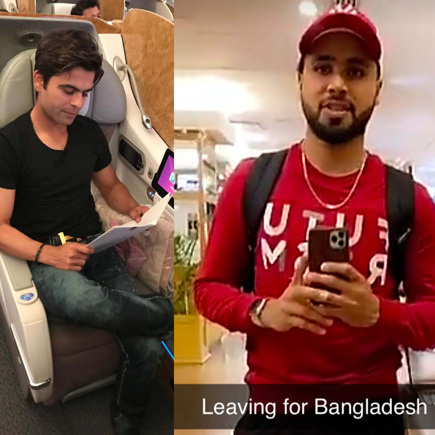 Ahmad Shahzad & Faheem Ashraf Off To Bangladesh To Play BPL