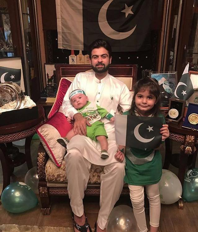 Ahmed Shahzad Celebrating 14th August