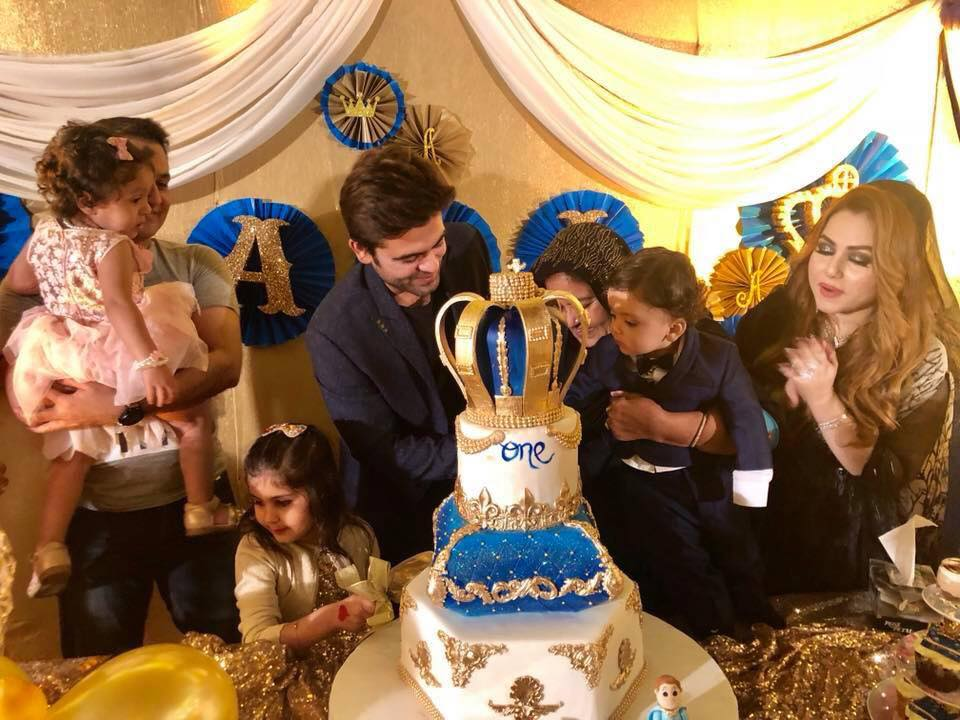 Ahmed Shahzad's Son's Birthday Bash