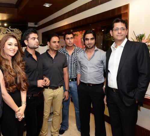 Ahmed Shehzad, Abdur Rehman, Nasir Jamshed and Imran Nazir