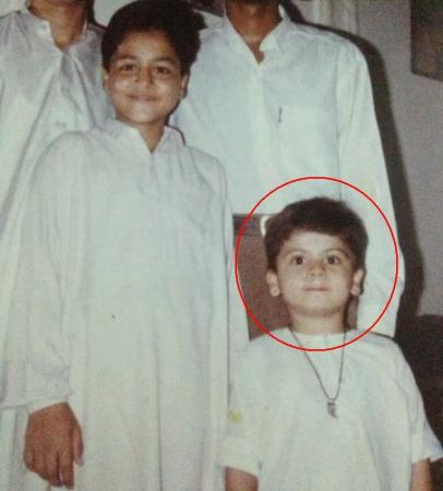 Ahmed Shehzad Childhood Picture