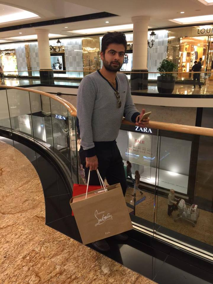 Ahmed Shehzad In Dubai
