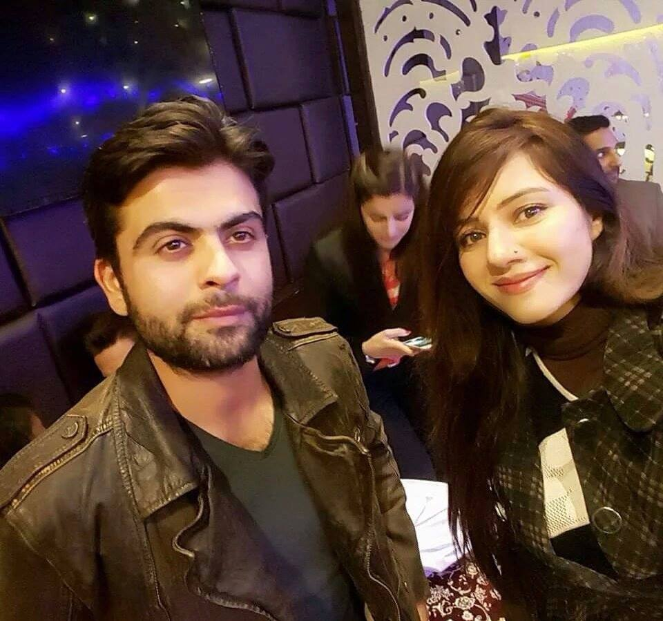 Ahmed Shehzad Selfie With Rabi Pirzada