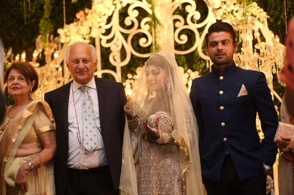 Ahmed Shehzad and Sana Murad Walima Photo