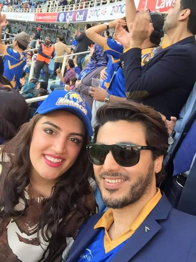 Ahsan khan with junior BB