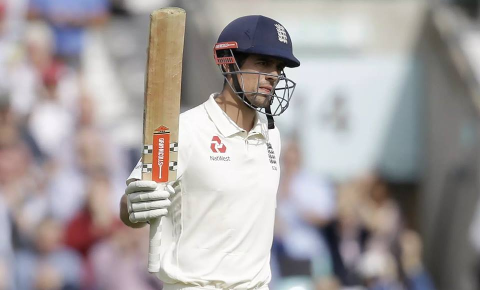 Alastair Cook Makes Farewell Century Against India