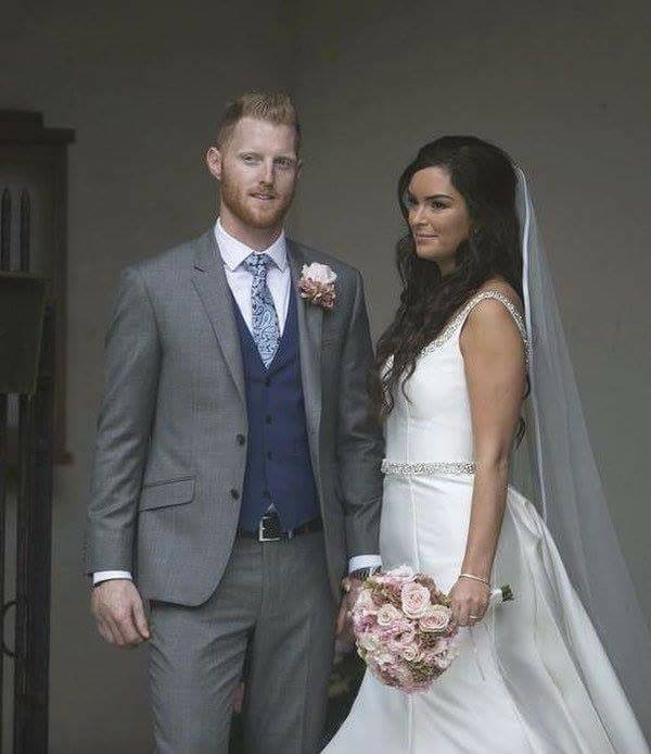 All Rounder Ben Stokes Gets Married