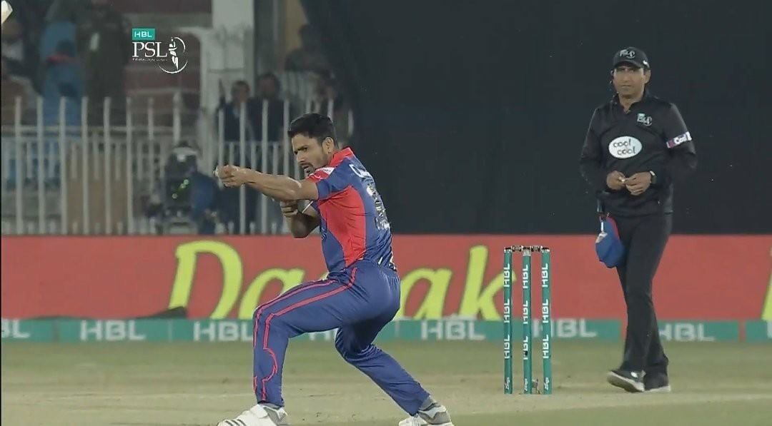 Amir Yamin Introduce His New Style After Wicket Taking