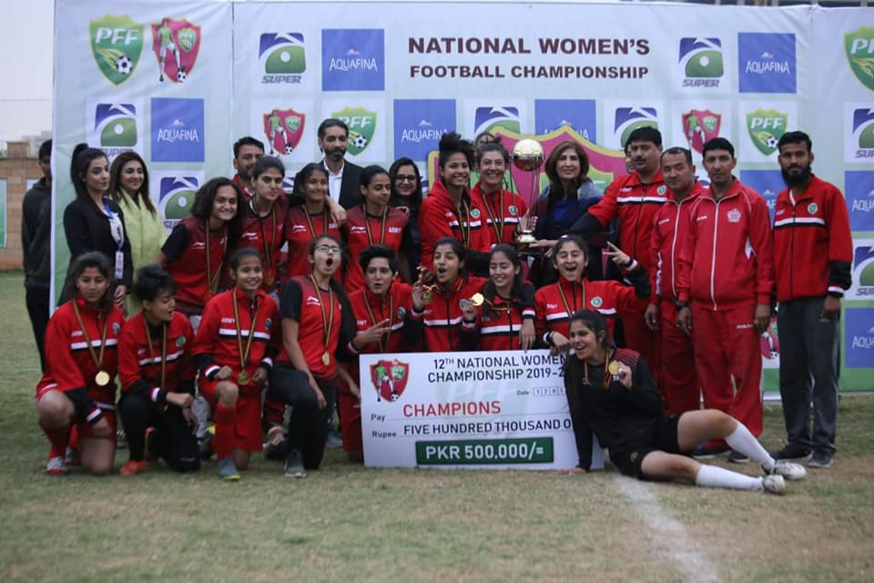 Army Wins National Women