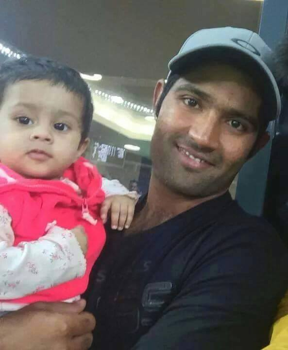 Asad Shafiq And His Daughter