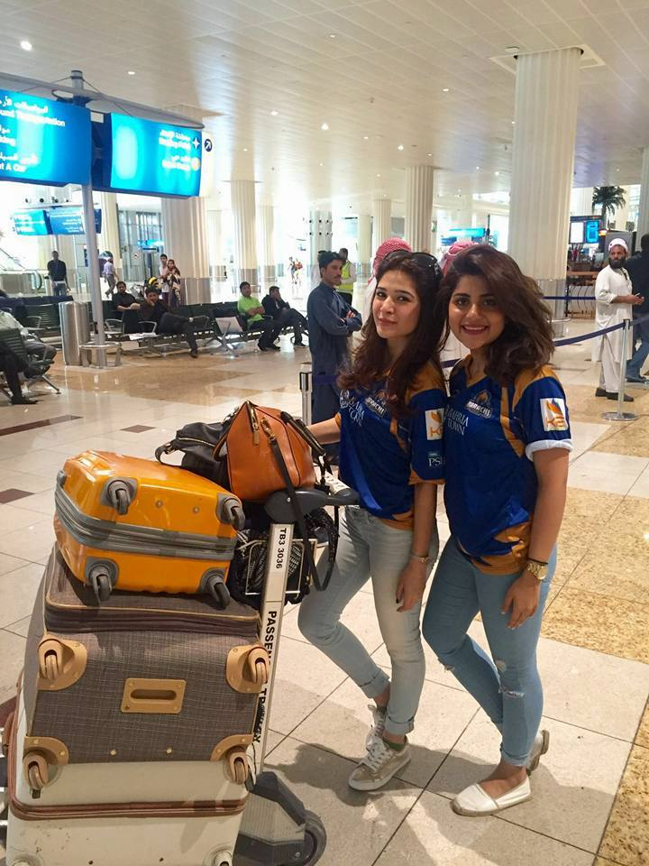 Ayesha Omar & Sohai Ali Abro Have Reached Dubai For PSL