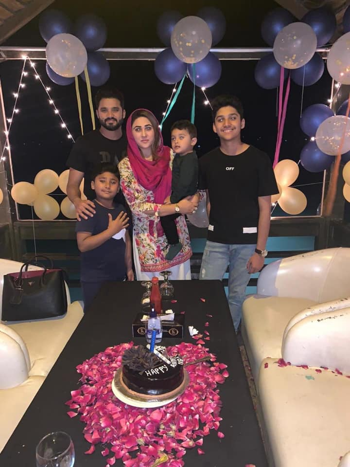 Azhar Ali Celebrated His Birthday With His Beloved Family