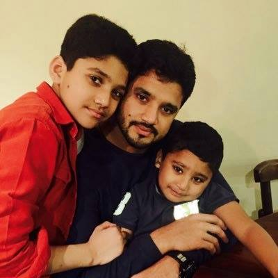 Azhar Ali With Kids