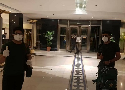 Babar Azam And Other Players Arrived In Lahore For England Tour