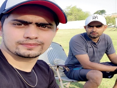 Babar Azam Spending Isolation Days With His Brother Safeer Azam