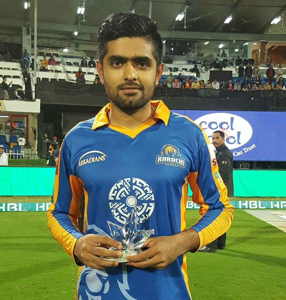 Babar Azam Win Player Of The Match Award
