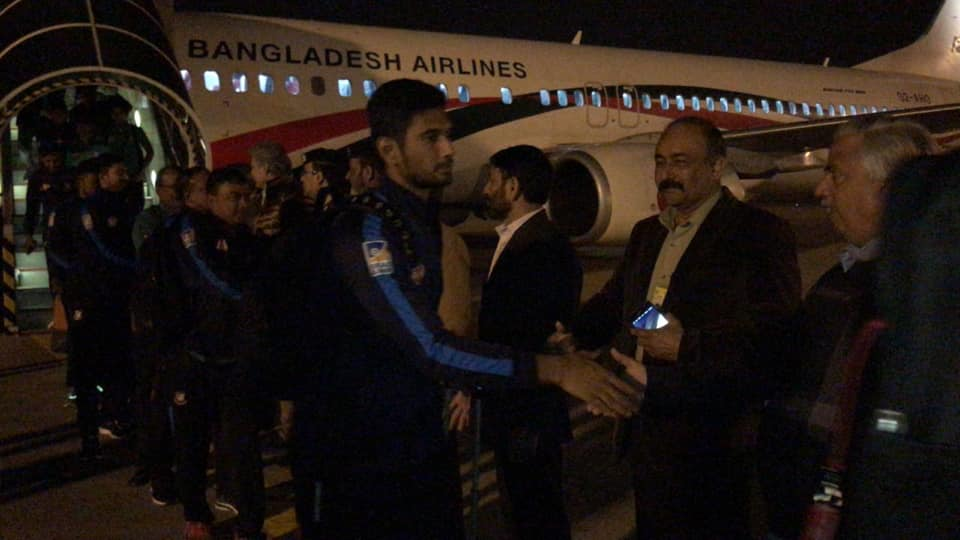 Bangladesh Cricket Team Landed At Lahore To Play T20 Series Against Pakistan