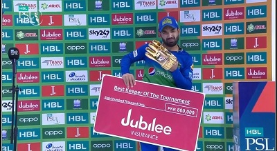 Best Wicket Keeper Of The Tournament Goes To Muhammad Rizwan