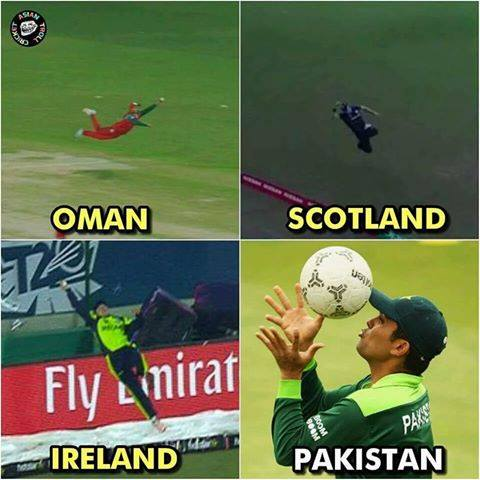 Best fielding side