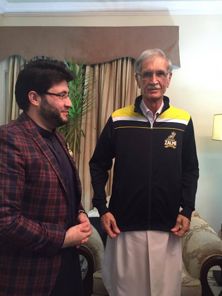 Biggest Fan of Peshawar Zalmi CM KPK Pervaiz Khattak