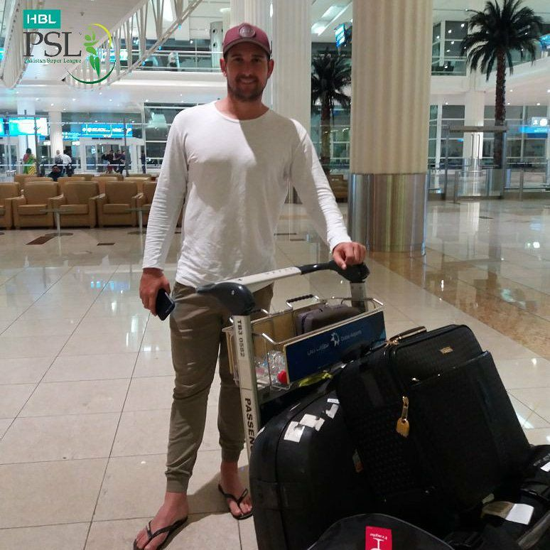 Cameron Delport In Dubai For PSL