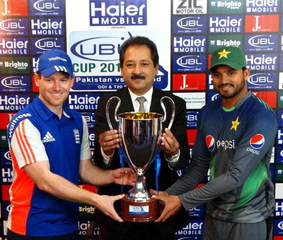 Captain of Pakistan vs England ODI Series