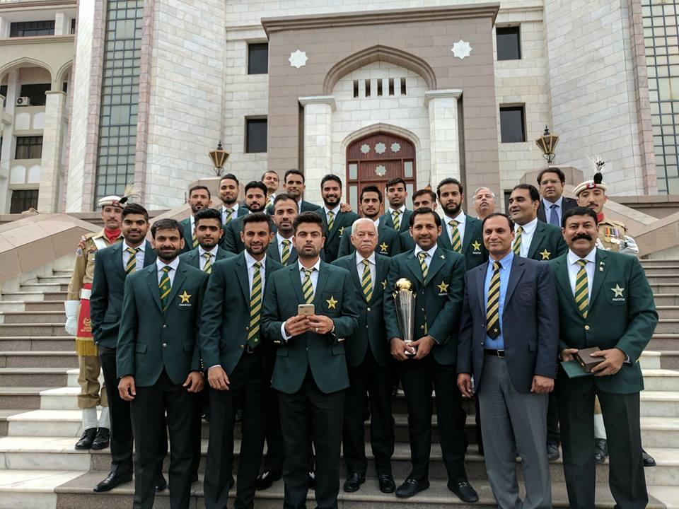 Champions At Prime Minister Secretariat