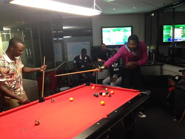 Team West Indies Does Pool Too