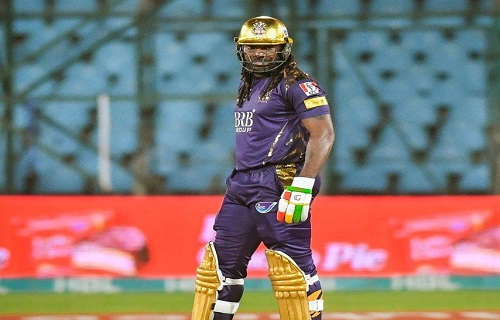 Chris Gayle Registers His Maiden Fifty As Gladiator