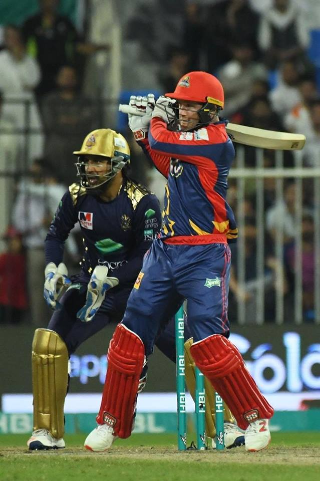 Collin Ingram Becomes First Foreign Player Who Smash A Ton In PSL
