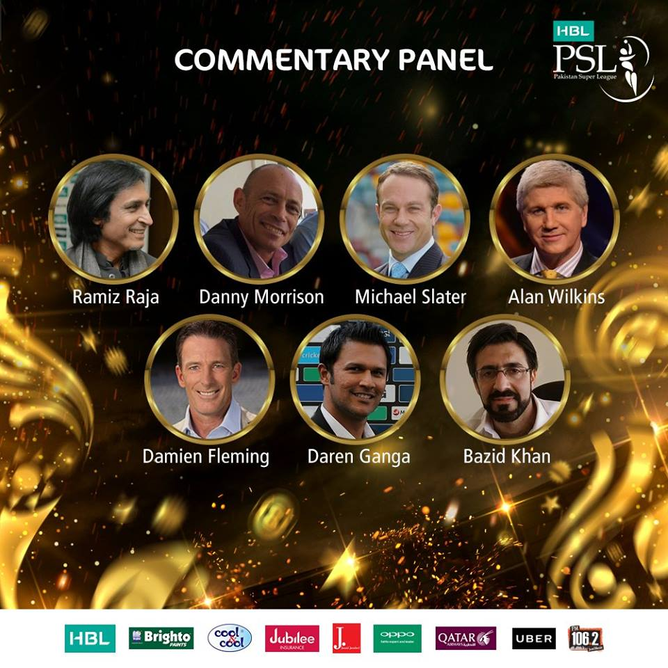 Commentary Panel For PSL 3