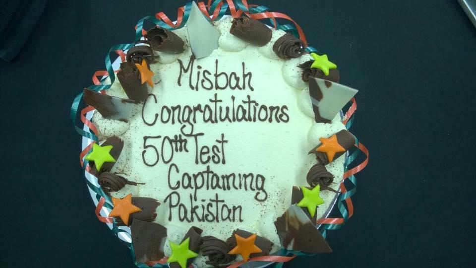 Congrats Misbah