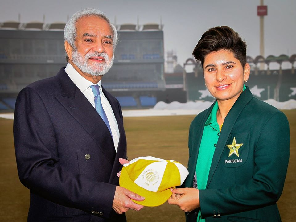 Congratulations Nida Dar On Receiving ICC T20I Team Cap,