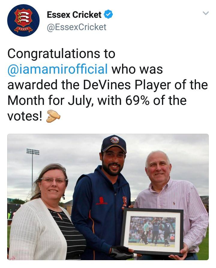 Congratulations To Amir