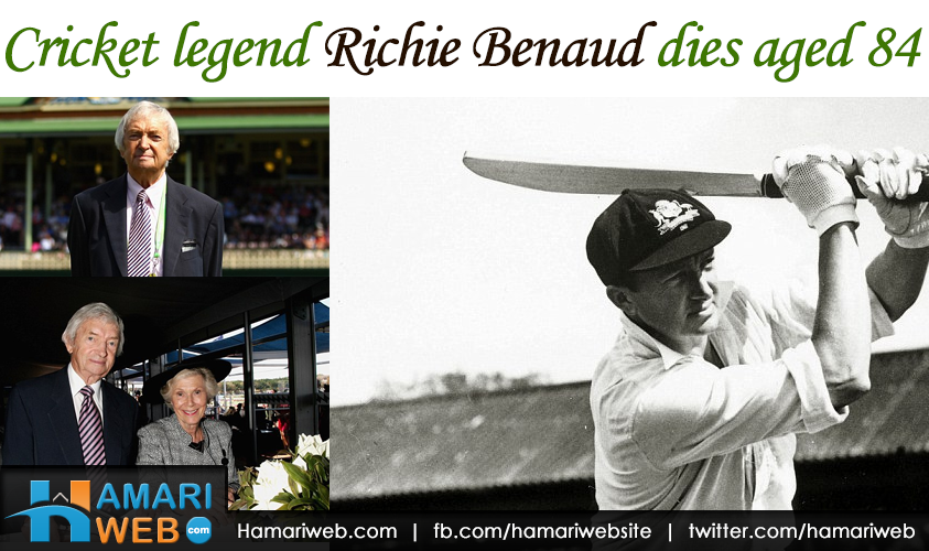 Cricket Legend Richie Benaud Dies Aged 84