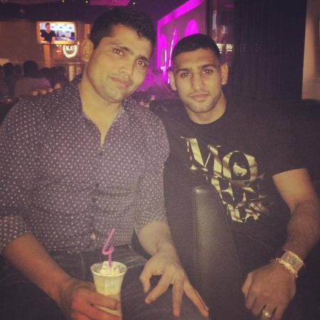 Cricketer Kamran Akmal And Boxer Amir Khan Together