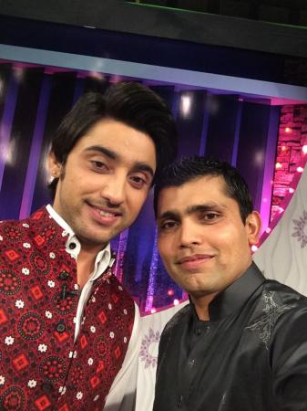Cricketer Kamran Akmal With Singer  Amanat Ali