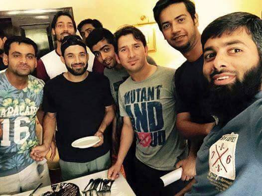 Cricketer Mohammad Rizwan Birthday Celebration