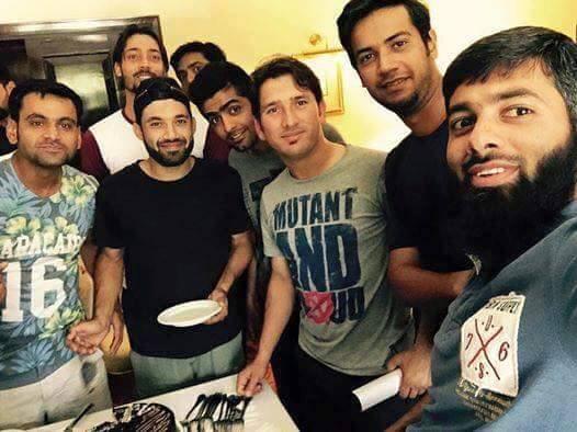 Cricketer Mohammad Rizwan Birthday Celebration